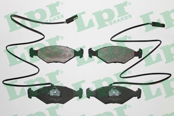LPR 05P017 Kit pastiglie...