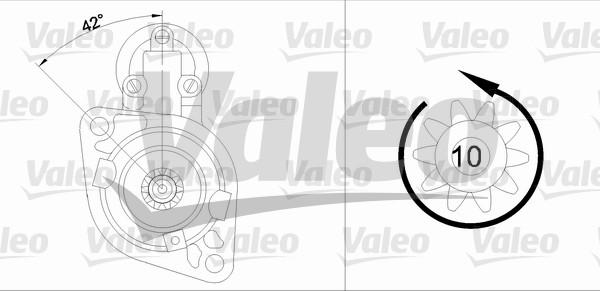 VALEO 455675 Motorino...