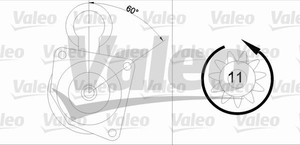 VALEO 455678 Motorino...