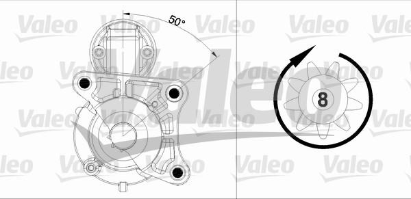 VALEO 458179 Motorino...