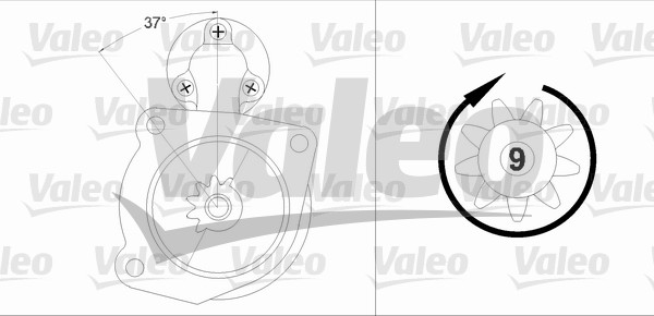 VALEO 458212 Motorino...