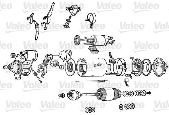 VALEO D8E154 Motorino...