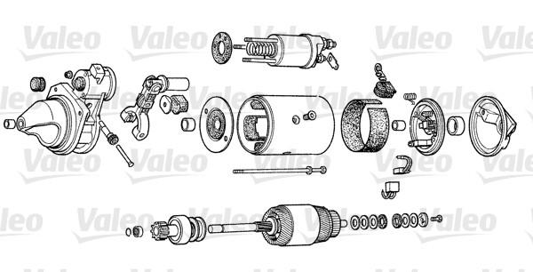VALEO D9E34 Motorino...