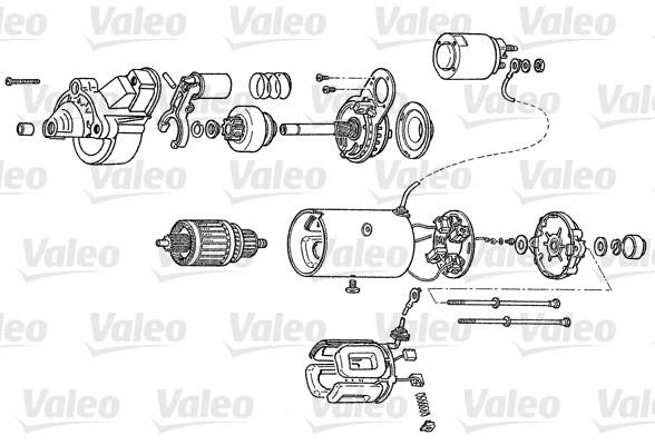 VALEO D7R61 Motorino...