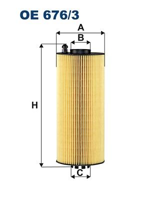 FILTRON OE 676/3 Filtro olio