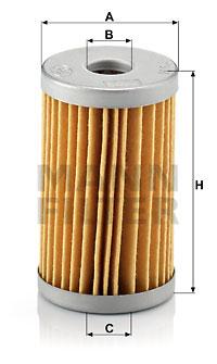 MANN-FILTER H 53 Filtro olio