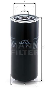 MANN-FILTER WD 962/8 Filtro...